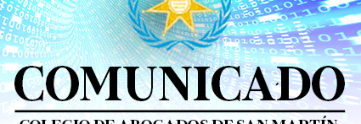 COMUNICADO 05-2021-CASM/JD – REFERENTE A LA FIRMA DE CONVENIOS CON LABORATORIOS EN LA REGIÓN PARA LA ATENCIÓN DE NUESTROS AGREMIADOS CON PRUEBAS COVID-19.