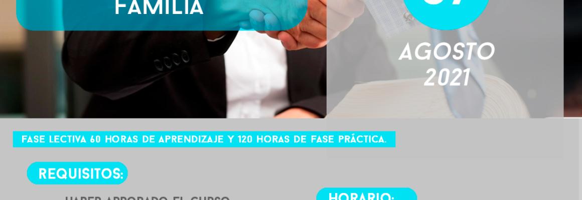 CURSO DE: «CONCILIACIÓN ESPECIALIZADO EN FAMILIA»